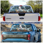 Car Truck Off Road Pickup Rear Window White Running Horse Graphics Decal Sticker