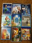 Lot of 9 Disney Blu Ray Movies Lion King Bambi Little Mermaid Mary Poppins