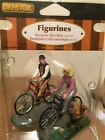 Lemax Village Romantic Bike Ride #52131 Retired Harvest Crossing Spooky Town