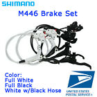 New Shimano BR BL M446 M447 Hydraulic Disc Brake Lever Set MTB Front Rear
