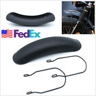 Matte Black Motorbike Front Wheel Fender Metal Mudguard Protection Cover US Ship