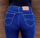 LEE Vintage 80s High Waist Straight Leg Denim Jeans Womens 26x26
