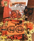 Fun Lot of 9 Vintage Halloween Items Noisemakers Hat  More Japan 1930s 60s