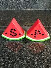 Salt And pepper Shakers Watermelon plastic