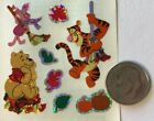 FALL TIME WINNIE THE POOH  FRIENDS Prismatic Sticker8pcDisneyLeaves Sweep