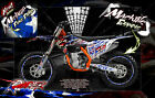 'RIPPER' GRAPHICS WRAP DECAL KIT FITS KTM 2012-2019 EXC XCW 250 300 450 525