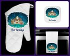 Christmas Nativity Oven Mitt Pot Holder Kitchen Towel Personalized O Holy Night