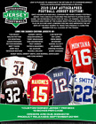 2019 Leaf Autographed Football Jersey Edition 10-Box Case PRESALE 10 25 19