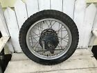 1980 Suzuki SP400 Rear Wheel Hub Brake Plate  SP 400