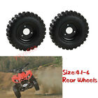 2 pcs 410 6 Knobby Wheels Tyre Tire For 4 stroke GY6 50CC 110CC ATV Quad Buggy