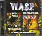 WASP - The Headless Children/Inside The Electric Circus 2CD set (Free shipping)