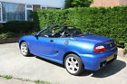 MGTF Cool Blue 2003 with 74500 Miles MOT Drives Very Well