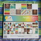 SIMPLE STORIES GOOD DAY SUNSHINE Paper Pad 12x12 48 Sheets Scrapbook Cards