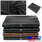 Universal 70x100cm/27x29'' Matte Black Soft PU Motorcycle ATV Scooter Seat Cover