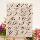 Alphabet Letter Silicone Clear Seal Stamp DIY Scrapbooking Embossing Paper Craft