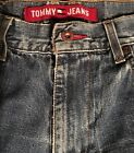 Tommy Hilfiger Mens denim Carpenter Jean Shorts SZ 32 Flag Loop Logo VTG 90s