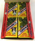 1984 Topps Gremlins Trading Cards Box 36 Vintage Sealed Packs 35 YEARS OLD!