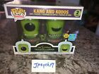 Funko Pop! The Simpsons Kang and Kodos GITD 2-Pack 2019 SDCC Shared Exclusive N