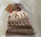 KEEP THE CHILL AWAY! Unique Crochet Unisex Adult Winter Beanie Hat With Pom Pom