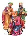 Three Wise Men 3 Kings Tres Reyes Magos Nativity 12 Inch Tall Home Decor