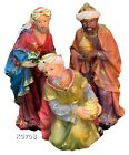 Three Wise Men 3 Kings Tres Reyes Magos Nativity 8 Inch Tall Home Decor