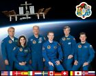 NASA PHOTO INTERNATIONAL SPACE STATION EXPEDITION 21 CREW 8 X 10 PHOTO