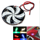 Motorcycle Fire Wheel Flash Lamp Colorful Atmosphere Windmill LED Strobe Light