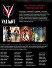 2013 Rittenhouse Valiant Comics Preview Set Trading Cards 3