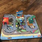 Thomas Take N Play Lot Tidmouth Tunnel Cranky At The Docks Mat Trains