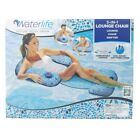 Waterlife 3 in 1 Inflatable Pool Lounge Chair Float Drifter Aqua Leisure