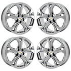 17 CHEVROLET CRUZE PVD CHROME WHEELS RIMS FACTORY OEM SET 5749
