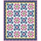 Blank Quilting Gypsy Dreams Twinkling Stars Throw Size Quilt Kit