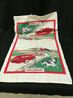 Vintage Texaco Gas Products Tea Towel