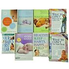 Lot of 8 Child Care Books What to Expect Before  After Birth  Sleep Solutions