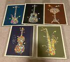 Dave Matthews Band Complete Flower Art Print Series One Autographed
