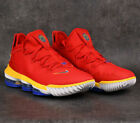 Nike LeBron XVI 16 Low SuperBron CK2168-600 Red Mens Basketball Shoes Sneakers