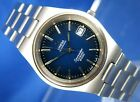 Vintage Omega Seamaster Cosmic 2000 Automatic Watch Blue Dial Excelent Condition