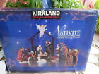 Kirkland Signature 13 Piece Porcelain Nativity Set Hand Painted