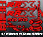 Rieju RRX 50 Decals / Stickers / Graphics ALL COLOURS AVAILABLE SEE DESCRIPTION