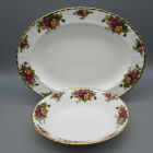 Royal Albert Bone China OLD COUNTRY ROSES Oval Servers SET OF THREE