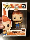Conan As Woody Toy Story #29 2019 SDCC Exclusive Funko Pop + FREE POP PROTECTOR!