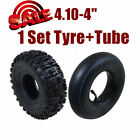 410 4 Tyre Tire and Tube For 47cc 49cc 50cc ATV Quad Bike Go Kart Buggy Scooter