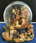 Nativity Lighted Musical Snow Globe