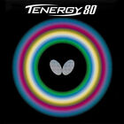 Butterfly Tenergy 80 Table Tennis Rubber 21mm Red