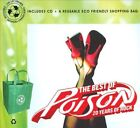 POISON - THE BEST OF POISON: 20 YEARS OF ROCK - CD/TOTE BAG - NEW