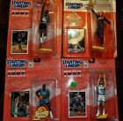 NBA Starting Lineup Sports Figures Set (in packages) Great condition. 4 total