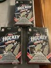 (3) 1990-91 Upper Deck High Series factory sealed boxes