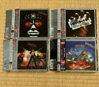JUDAS PRIEST Japan RE KILLING MACHINE BRITISH STEEL PAINKILLER IN THE EAST 4 CD