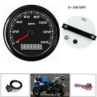 85MM 3 2 5 GPS 140MPH Speedometer Gauge Device Car Motorcycle Backlight+Cable