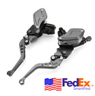 Motorcycle CNC Hydraulic Master Cylinder Clutch Brake Lever 7/8
